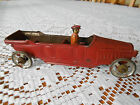 ORIGINAL 1920's BING ? TIN LITHO CAR AND DRIVER GERMANY EXCELLENT