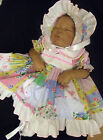 DREAM BABY GIRL SUMMER PATCHWORK FRILLY DRESS HAT NB 0 3 3 6 6 12 12 18 months