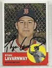 Ryan Lavarnway Signed Autographed Card 2012 Topps Heritage