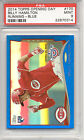 BILLY HAMILTON REDS 2014 TOPPS OPENING DAY RUNNING BLUE CARD PSA 9 MINT