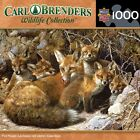 MASTERPIECES CARL BRENDERS COLLECTION JIGSAW PUZZLE FULL HOUSE FOXES