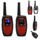 New 2pcs Walkie Talkie 2-Way Radio Long Range 5km 5mile Compact Hand Held Set 5W