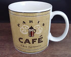 Sakura Stoneware Coffee Break Green Paris Cafe Rue Fonteneau Mug Cup Tea Mint