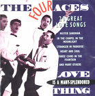 THE FOUR ACES .. 20 GREAT LOVE SONGS .. LOVE IS A MANY SPLENDORED THING...OLDIES