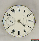 Tho Russell & Son Makers To The Queen 43mm KW/KS Pocket Watch Movement Runs