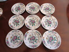 Estate Sale - Lot of 9 Black Knight #3014 Selb Bavaria Side Plates