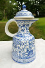 Conimbriga Ceramica hand Painted and Signed Isabel #122  Blue White Portugal