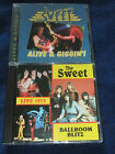 THE SWEET Ballroom Blitz 1973 ANDY SCOTT'S SWEET Alive And Giggin' TWO X CD LOT