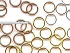 100 Open Jump-rings Connector Jewelry Making Assorted Weave Chainmaille Supplies