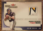 2001 Fleer Hot Prospects Drew Brees Postmarks Rookie Logo Patch - Chargers 1775