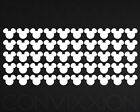 MICKEY MOUSE VINYL DECAL 50 STICKERS SHEET DIY PROJECT FLASHLIGHT 1 Decals