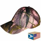 BASEBALL CAP Pink Real Tree CAMO CAMOUFLAGE ADJUSTABLE HAT WHOLESALE NEW #E0424