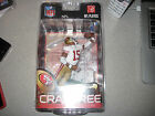 MCFARLANE NFL 23 MICHAEL CRABTREE SILVER COLLECTOR LEVEL CHASE VARIANT #196/1000