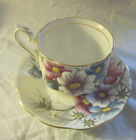1950s-1960s ROYAL ALBERT BONE CHINA COSMOS Hampton Handpainted Cup