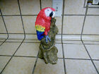 Parrot, Scarlet Macaw Figurine United Design Stone Critter Classic Larry Miller