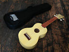 Mahalo Transparent Butterscotch Soprano Ukulele Uke With Case