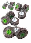 Flap Wheel Disc Sanding Abrasive for Drill 6mm Shank 40 or 80 Grit 25mm - 80m