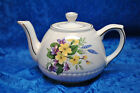 LOVELY ELLGREAVE TEAPOT WITH WILDFLOWERS AND VIOLETS