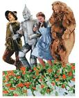 PAPER HOUSE SHAPED JIGSAW PUZZLE THE WIZARD OF OZ - POPPY FIELD 500 PCS #0012E