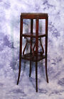 Antique Duncan Phyfe Mahogany Square Pedestal Table Plant Stand End Side Coffee