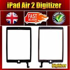 New Replacement Black Front Glass Digitizer for Appple Ipad Air 2 A1566