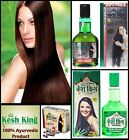 DNew Ayurvedic Kesh King Herbal Hair loss Treatment Pack Oil+Shampoo+Capsules