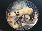CAT  DECORATIVE COLLECTOR PLATE  FRANKLIN MINT HEIRLOOM