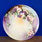 VINTAGE Tressemanes & Vogt T&V Limoges BLACKBERRY Plate/Tray PLATTER Signed E.B.