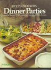 Betty Crockers Dinner Parties Cook Book Spiral Bound Hard Cover 1978 7th Print