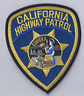 CALIFORNIA HIGHWAY PATROL - SHOULDER-  IRON ON PATCH