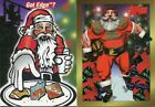 1997 Topps & Edge Santa Clause Happy Holidays Insert 2 Card Lot RARE EX Cond