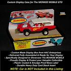 Custom Display Case: The MONKEE MOBILE GTO 1:64  AW JL AFX Compatible