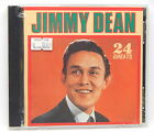 Jimmy Dean: 24 Greats ~ NEW CD (1987, Highland Music / Deluxe (USA) # DCD-7860)