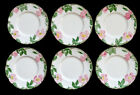 Vintage FRANCISCAN WARE China DESERT ROSE / 6 BREAD PLATES w/ 1950's USA Mark