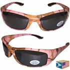 POWER WRAP Pink Real Tree Camo Camouflage HUNTING SUNGLASSES NEW SALE! #E9995