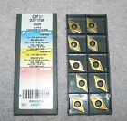 ISCAR CARBIDE INSERTS DCMT 11T304 GRADE IC520N CERMETS  PACK OF 10