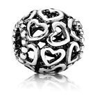 Authentic Pandora Open Your Heart Sterling Silver Charm 790964