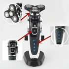 Rotary 4D Rechargeable Washable Men's Cordless Electric Shaver Razor Deluxe New
