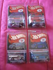 2014 Hot Wheels Red Line Club RLC Drag Dairy Chrome Set 4 vehicles