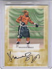 2010 RINGSIDE ROUND 2 SHANNON BRIGGS GOLD 10 A-TW2 AUTOGRAPH AUTO