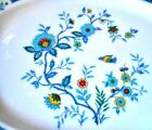 Noritake Shangri-La Dinnerware Japan Platter - Multi-Color Flowers/Birds 13-1/2