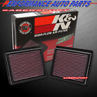 K&N 33-2440 Hi-Flow Air Intake Drop in Filter for Infiniti Nissan *See Detail*