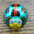 Vintage Tin Litho Friction Toy Lady Bug Made in Japan Beetle