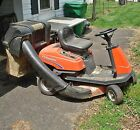 Simplicity Coronet 13hp Rear Engine Riding Lawn Tractor Mower bagger hydrstat