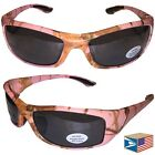 POWER WRAP Pink Real Tree Camo Camouflage HUNTING SUNGLASSES NEW SALE! #E4321