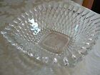 Antique/Vintage Beautiful Square Ribbed Edge Teardrop Pattern Dish