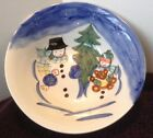 Snowman Soup Cereal Bowl WINTERLAND CHRISTMAS Tabletops Unlimitied