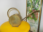 VTG BRASS METAL PLANT CACTUS WATERING CAN POT ART DECO STYLE GLOBE SPHERE SHAPE