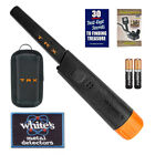 Whites Bullseye TRX Pinpointer Pin Pointer with Holster and FREE Iron-on Patch