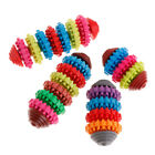 Rubber Pet Dog Puppy Dental Teething Healthy Teeth Gums Chew Toy Colorful Tools